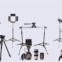 Kit pro de material audiovisual